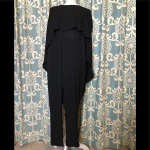 HaoDuoYi Black Jumpsuit